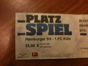 Kellerduell: HSV-1. FC Köln