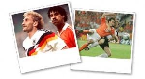Deutschland gegen Holland - ein Länderspielklassiker