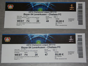 Bayer Leverkusen gegen Chelsea FC