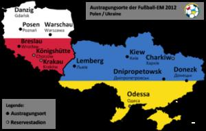 Auslosung in Kiew zur EM 2012