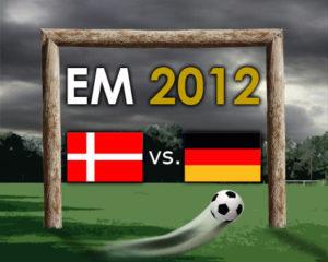 EURO 2012: Deutschland gegen Dänemark
