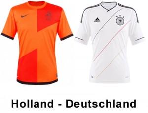 Holland gegen Deutschland