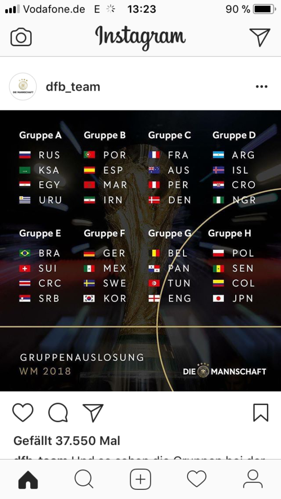 WM Gruppen 2018