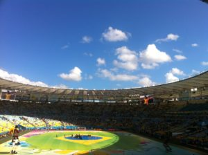 Fußball WM 2014 im Maracana